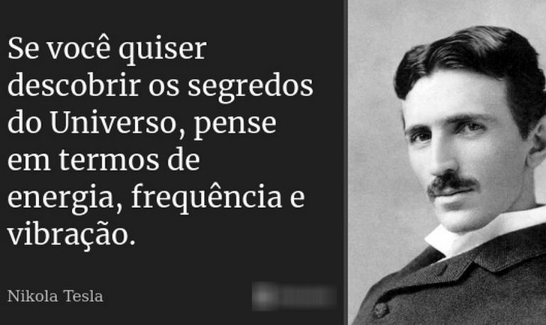 """Frase sobre os """"segredos do Universo"""" pertence a Nikola Tesla?"""