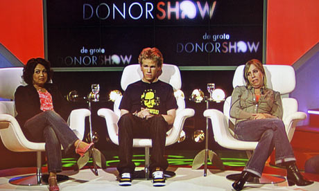 The Big Donor Show - farsa na TV