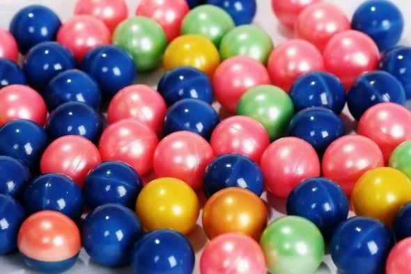 Munição para armas de paintball (foto: Reprodução/ http://www.paintball-pt.com)