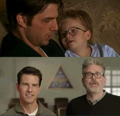 O menino do filme Jerry Maguire está mais velho que o Tom Cruise?