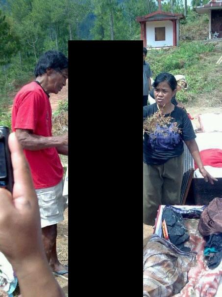 Zumbis caminham na Indonésia! Será verdade? (foto: Reprodução/Facebook)