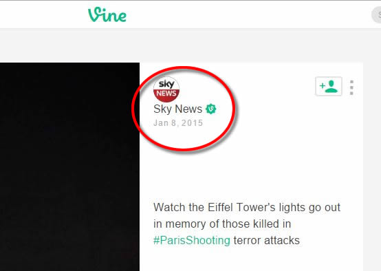O vídeo foi publicado em janeiro de 2015!