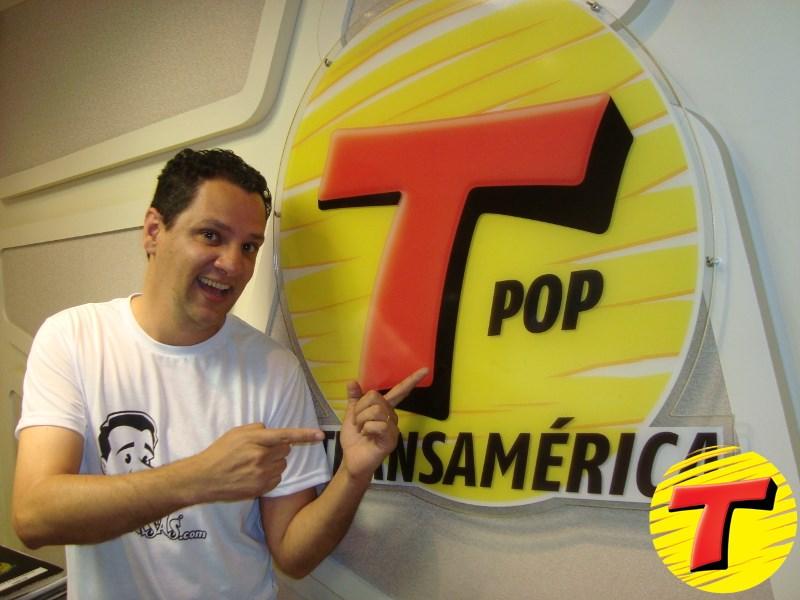 Gilmar Lopes do E-farsas na Rádio Transamérica FM! (foto: Divulgação)