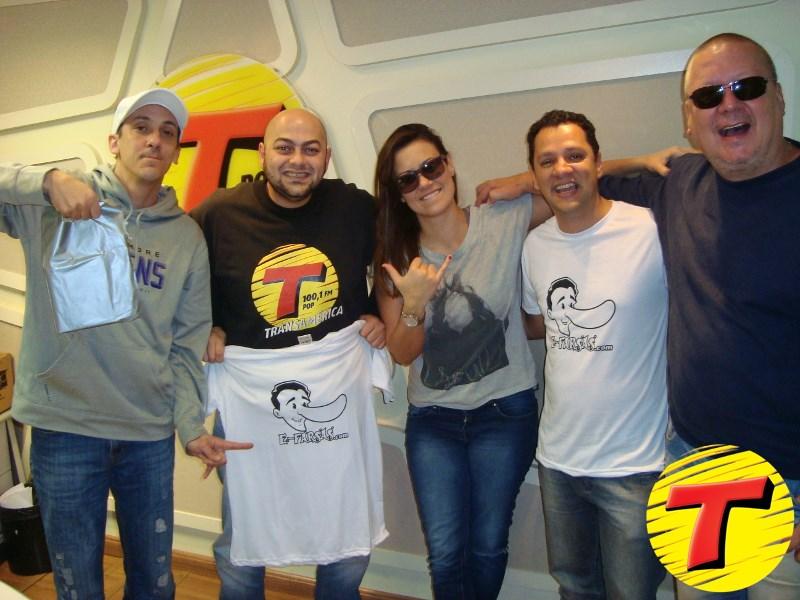 Fuzil, Rodrigo Pizcioneri, Angélica Morango, Gilmar Lopes e Gavião (foto: Divulgação)