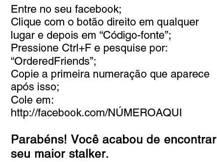 """Boato que apareceu em 2012 """"ensinava"""" como ver quem te visitou no Facebook!"""