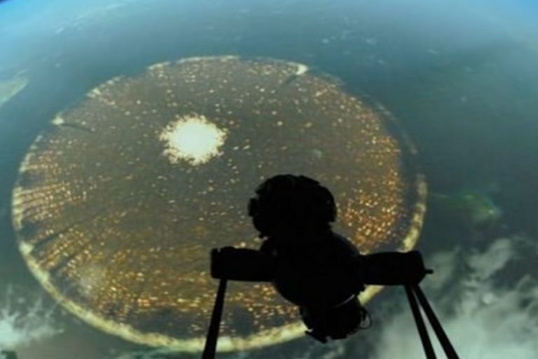 Estranha anomalia na Terra foi registrada pela Estação Espacial Internacional?