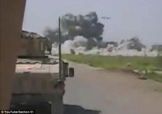 Ovni teria atacado base no Afeganistão! Verdadeiro ou falso? (foto: reprodução/YouTube)