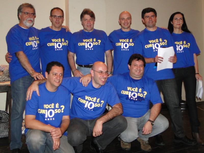 Colaboradores do Programa Você é Curioso da Rádio Bandeirantes!