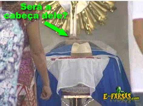 Vereador morto levanta a cabeça dentro do caixão!
