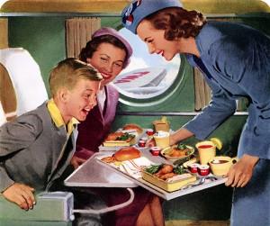 Comida de avião - Economia teria começado há muitos anos!
