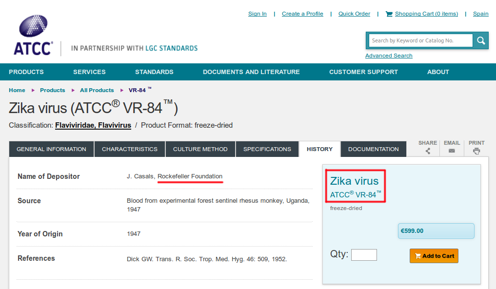 Indústria estaria comercializando o vírus Zika! Será verdade?