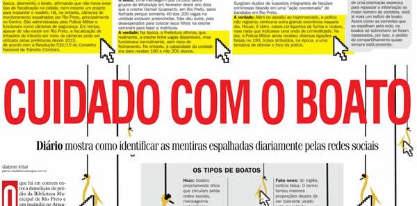 Criador do E-farsas em entrevista no Jornal Diário da Região!