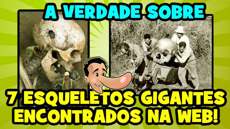 7 fotos de esqueletos gigantes (nefilins) encontradas na web!