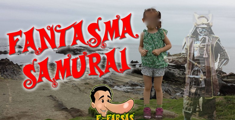 Fantasma de samurai teria aparecido em foto de garotinha! Será verdade?