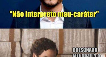 """""""Não interpreto mau-caráter"""", teria dito Wagner Moura sobre Sérgio Moro! Será verdade? (foto: Reprodução/Facebook)"""