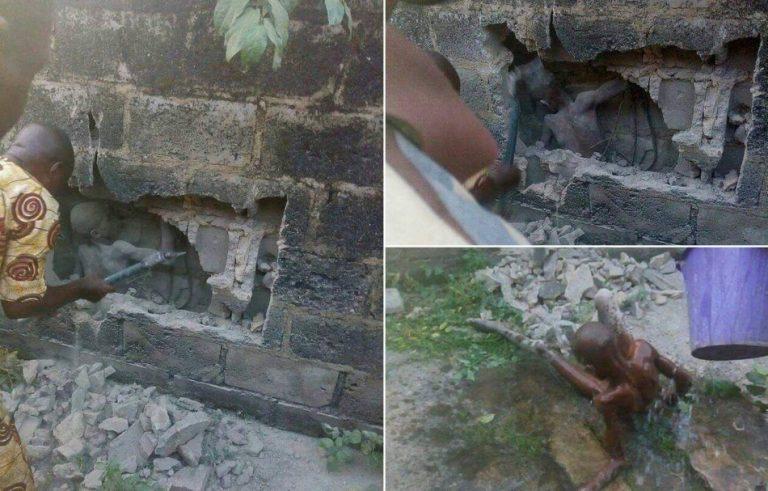 Menino de 12 anos foi enterrado vivo atrás das paredes de uma igreja?