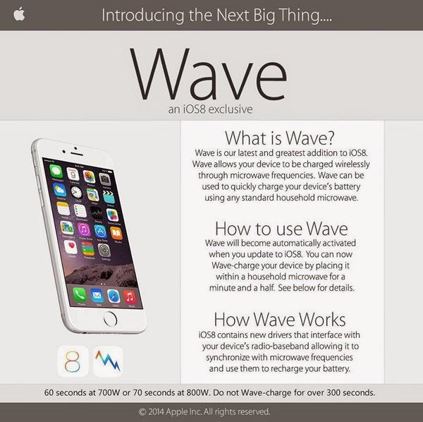 Novo recurso permite que o iPhone seja recarregado no micro-ondas! Verdade ou farsa? (foto: reprodução/Facebook)
