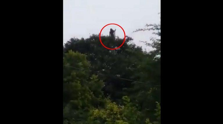 "Uma entidade sobrenatural chamada ""Chorona"" foi filmada na Colômbia?"