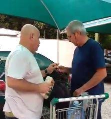 José Roberto Wright foi flagrado roubando bacalhau de supermercado?