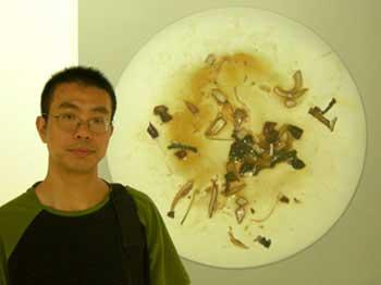 O artista Zhu Yu (foto: Divulgação)